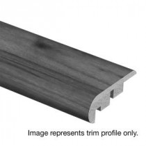Zamma Seabrook Walnut 3/4 in. Thick x 2-1/8 in. Wide x 94 in. Length Laminate Stair Nose Molding-0137541887 300810212