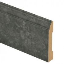 Zamma Slate Shadow/Monson Slate 9/16 in. Thick x 3-1/4 in. Wide x 94 in. Length Laminate Wall Base Molding-013041587 203622569