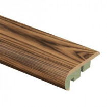 Zamma Smoked Hickory 3/4 in. Thick x 2-1/8 in. Wide x 94 in. Length Laminate Stair Nose Molding-0137541733 205655815
