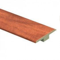 Zamma South American Cherry 7/16 in. Thick x 1-3/4 in. Wide x 72 in. Length Laminate T-Molding-013221799 206528615