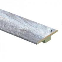 Zamma Winterton Oak 7/16 in. Thick x 1-3/4 in. Wide x 72 in. Length Laminate T-Molding-0137221768 206055839