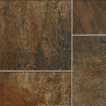 Hampton Bay Canyon Slate Clay Laminate Flooring - 5 in. x 7 in. Take Home Sample-HB-565184 203800734