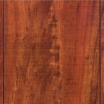 Hampton Bay Take Home Sample - Perry Hickory Laminate Flooring - 5 in. x 7 in.-HB-671292 203190522