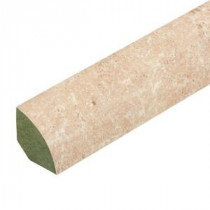 Innovations Tavas Travertine 3/4 in. Thick x 0.75 in. Wide x 94 in. Length Laminate Quarter Round Molding-369224 100299127