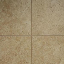Innovations Tumbled Travertine 8 mm Thick x 11-3/5 in. Wide x 46-3/10 in. Length Click Lock Laminate Flooring (18.56 sq. ft. / case)-836245 203391351