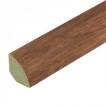 Sand Hickory 3/4 in. Thick x 3/4 in. Wide x 94 in. Length Laminate Quarter Round Molding-369232 202216999