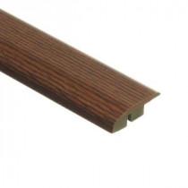 Zamma Galena Oak 1/2 in. Height x 1-3/4 in. Wide x 72 in. Length Laminate Multi-purpose Reducer Molding-013621513 203071601